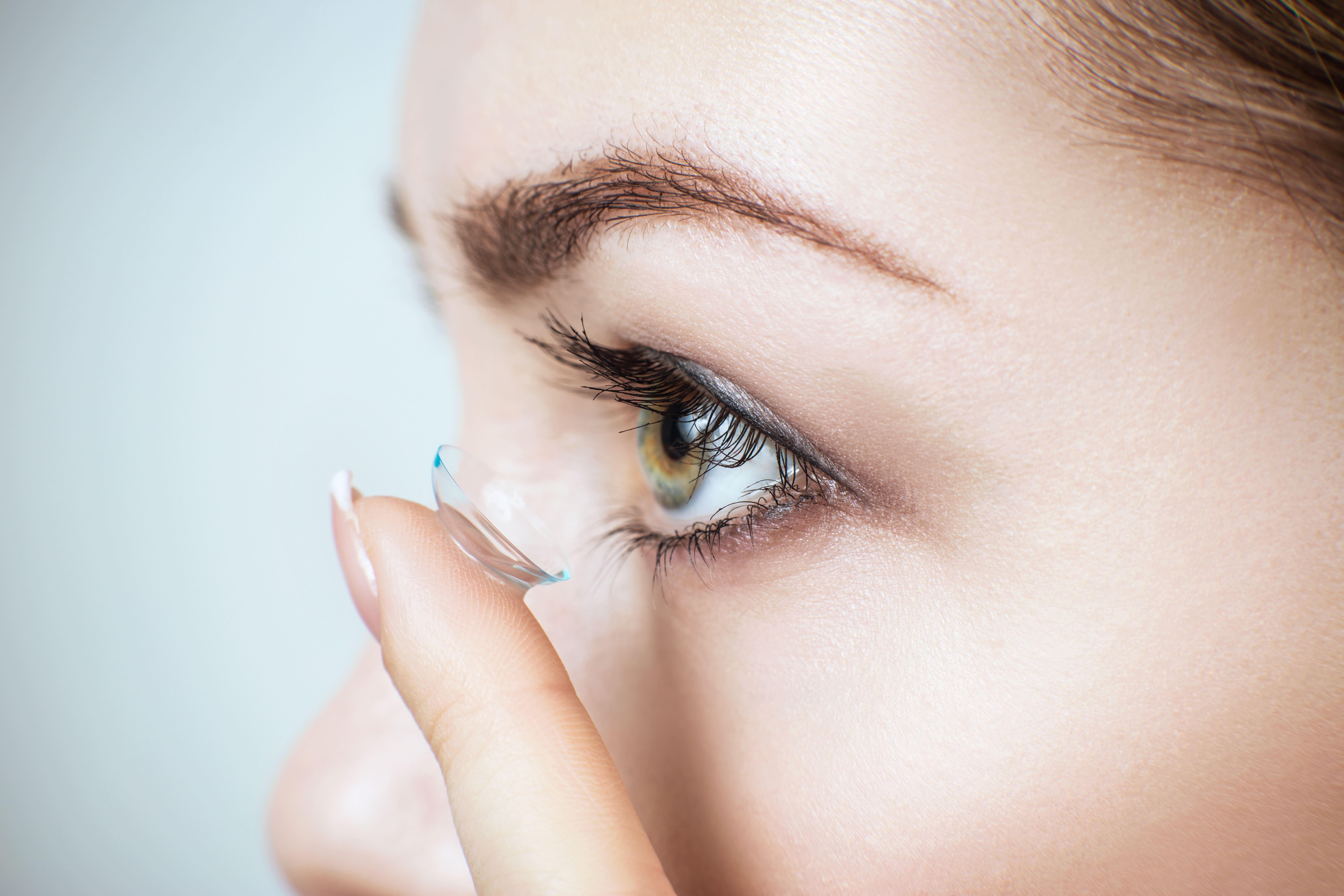Luitpold Brillen, Optiker in Füssen, Kontaktlinsen Nahaufnahme
